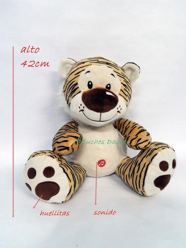 leopardo peluche tigre