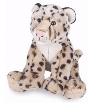 leopardo sentado de pelúcia! pelúcia original nova
