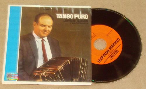 leopoldo federico tango puro cd mini lp / kktus