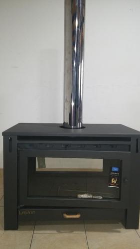 lepen  calefactor central a leña de 30000 calorias
