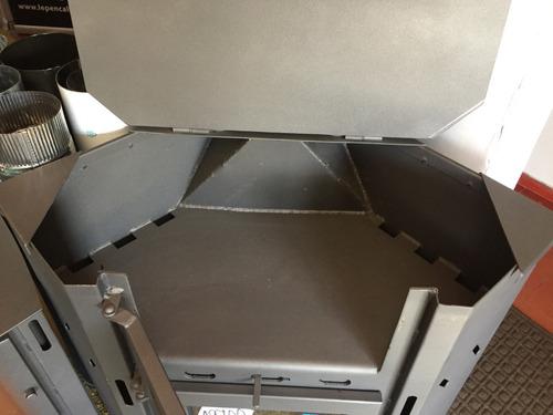 lepen estufa rinconero con horno / cocina 19000 a leña