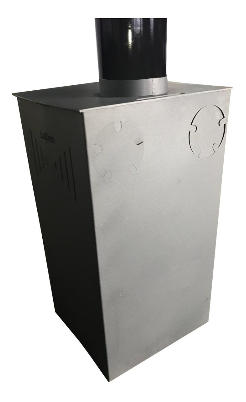Robax ® cristal chimenea horno de vidrio de 17.3 x 18.5 cm de espesor 3 o 4 o 5 mm