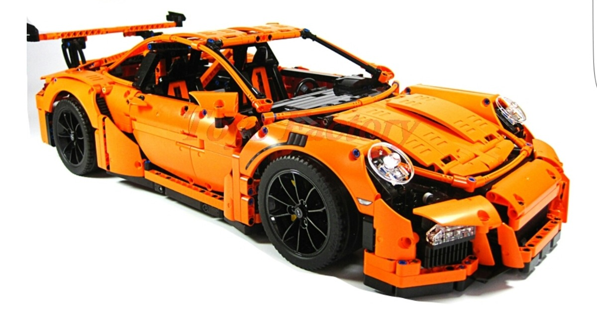 lepin porsche 911 gt3 rs 42056 compatible lego technic 2 en mercado libre. Black Bedroom Furniture Sets. Home Design Ideas