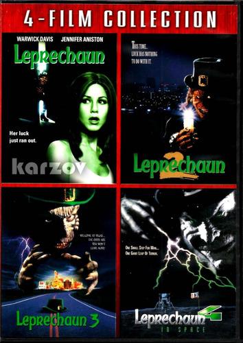 leprechaun coleccion de 4 peliculas dvd importado