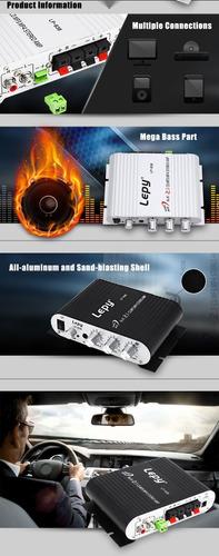 lepy lp - accesorio audio subwoofer estéreo amplificador ca