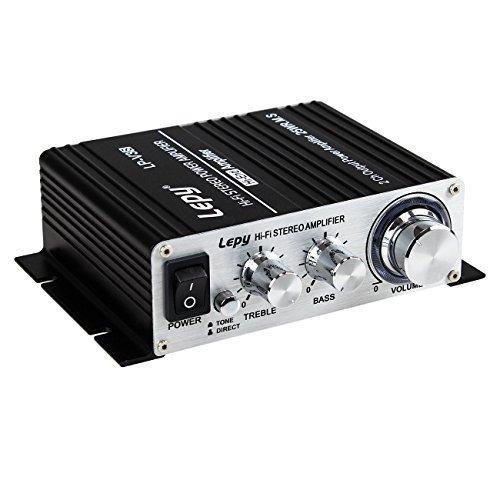 lepy lp-v3s 25wx2 rms de alta fidelidad estéreo de audio...