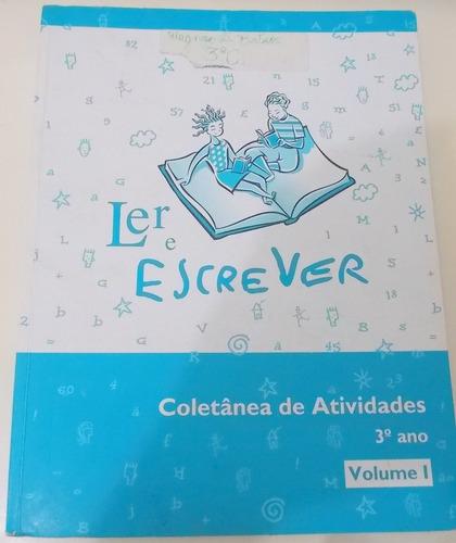 ler e escrever coletânea de atividades 3º ano