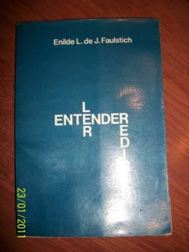 ler, entender, redigir  enilde l. de j. faulstich