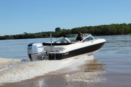 lerch gt 180 con honda 100hp y trailer