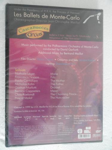 les ballets de monte-carlo / cascanueces circus/dvd original