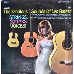 les baxter - lp fabulous sounds strings guitars voices 1962