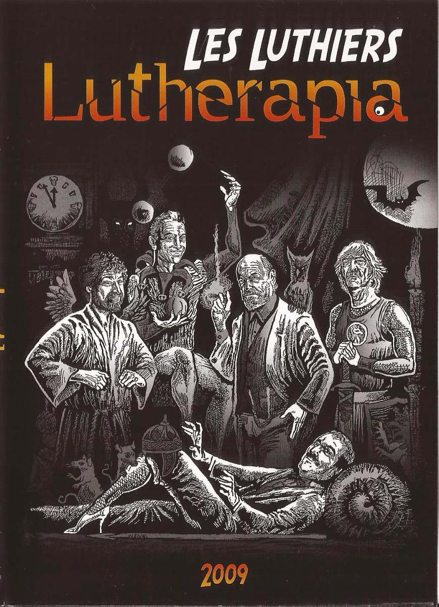 dvd les luthiers lutherapia