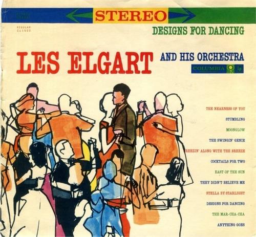 les elgart - lp designs for dancing* 1960* (imp.) orquestra
