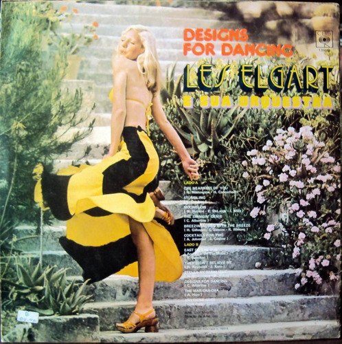 les elgart - lp designs for dancing (1960) stereo* orquestra