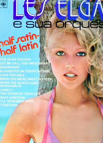 les elgart - lp half satin half latin* 1961 stereo orquestra