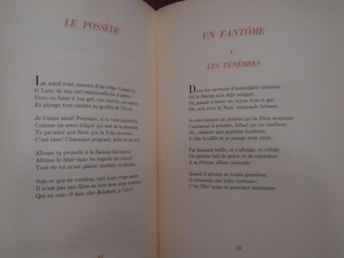 Les Fleurs Du Mal Charles Baudelaire Viau 1943 25000
