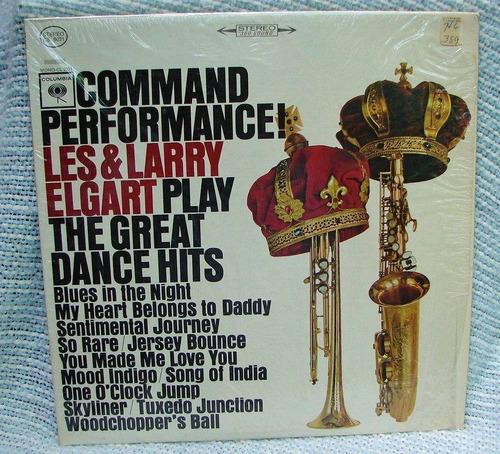 les & larry elgart - lp command performance! *1964* stereo