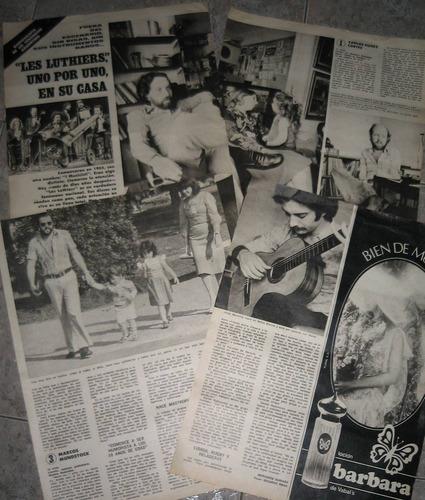 les luthiers - articulo de revista