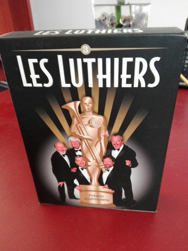 les luthiers dvd set x4 original en excelente estado.