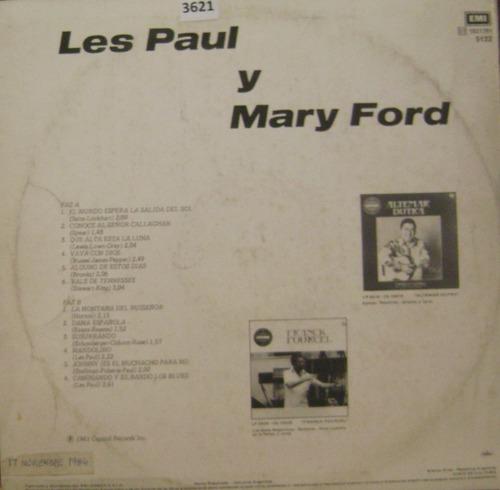 les paul & mary ford vinilo lp