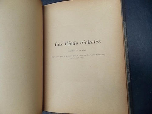 les pieds nickelés - tristan bernard  2e édition 1895