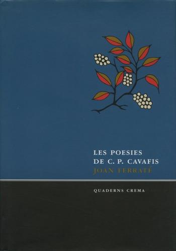 les poesies de c. p. cavafis(libro poesía)