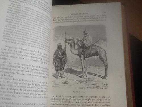 les races humaines razas humanas luis figuier 1880 grabados