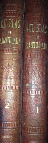 lesage,  -  historia de gil blas de santillana, salvat y c.,