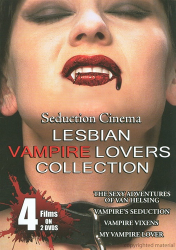 lesbian vampire lovers collection. original (2 discos)