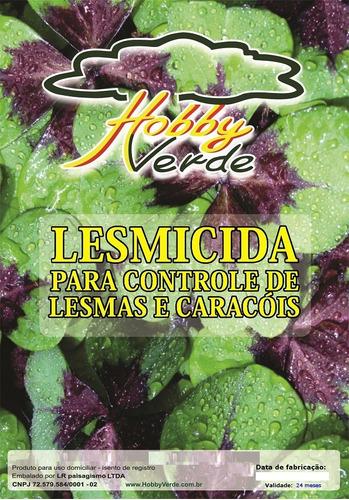 lesmicida - controle de lesma e caracol em orquídeas - 100 g