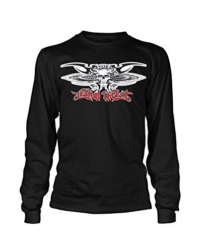 lethal threat (lt29105l) hombres camiseta ecológica manga la