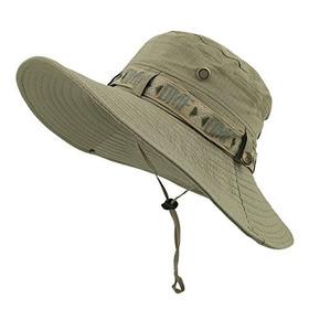 Lethmik Pesca Sun Boonie Sombrero Verano Protección Uv Gorra