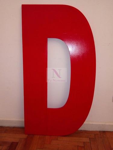 letra 30 cm polyfan carteles negocios - corpóreas grandes -