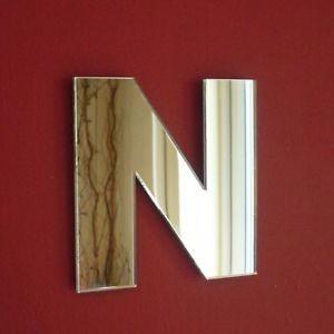 letra acrílico espelhado 30cm altura você escolhe