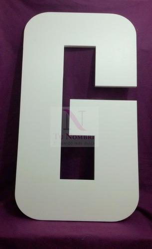 letra de 1 metro corpórea polyfan carteles tunombreimporta