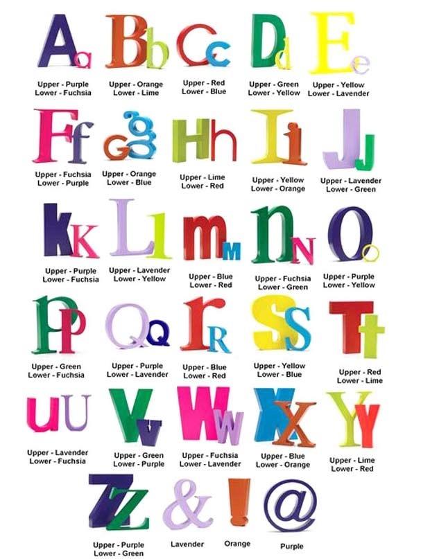 Letra H Decorativa