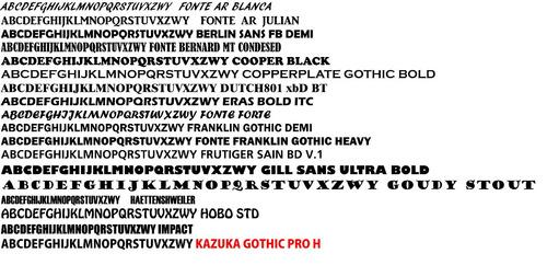 letra em mdf cru 3cm de altura arial black 5 letras r$1,00