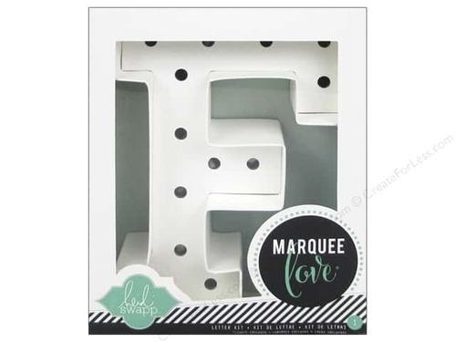 letra f carton decoracion focos scrapbook marquee letter hs