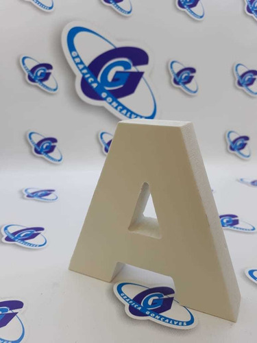 letra pvc expandido caixa alta nomes logos serv