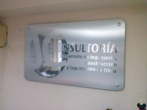 letras 3d de aluminio, logotipos y anuncios luminosos