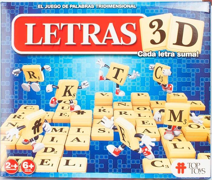 Gusbabys Juego De Mesa Letras 3d Top Toys