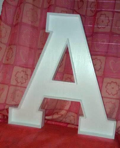 letras 50 cm corpóreas carteles polyfan tu nombre polifan