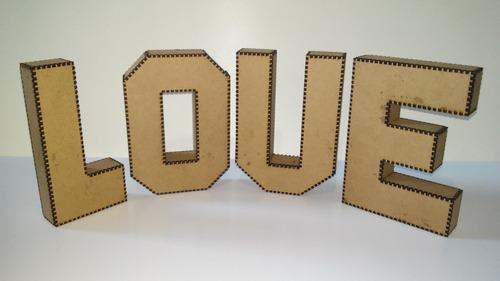 letras caixa em mdf 3mm crú