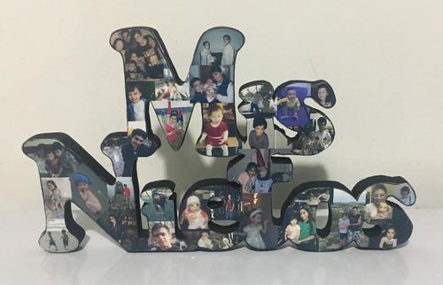 letras con fotos personalizadas mis nietos mis hijos etc