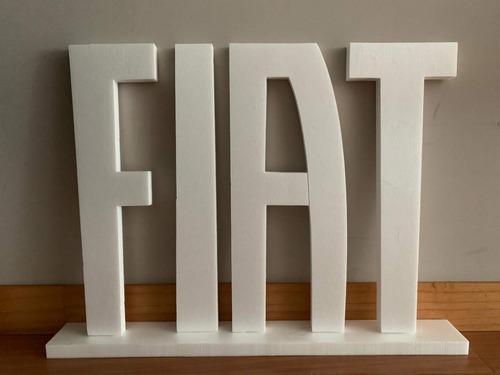 letras corporeas 25 cm polyfan carteles negocios frases