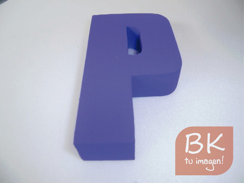 letras corporeas carteles polifan telgopor