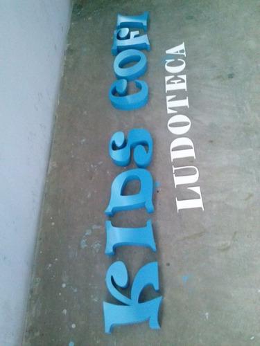 letras de 20 cm aluminio spec