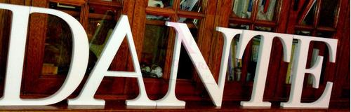 letras de 50 cm en polyfan de 2 cm s/pintar