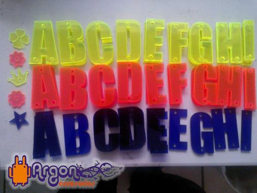 letras de acrilico para gorras