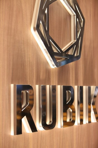 letras de aluminio en 3d